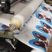 รับพิมพ์ผ้าม้วน ผ้าหลา